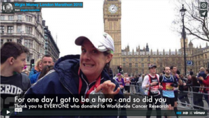 London Marathon video recap image